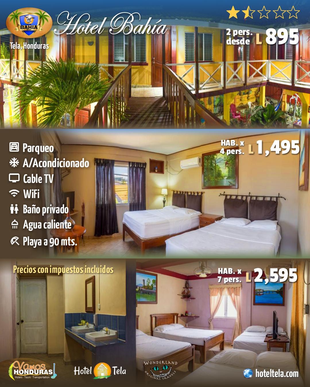 Hotel Bahía Tela, Tela, Honduras